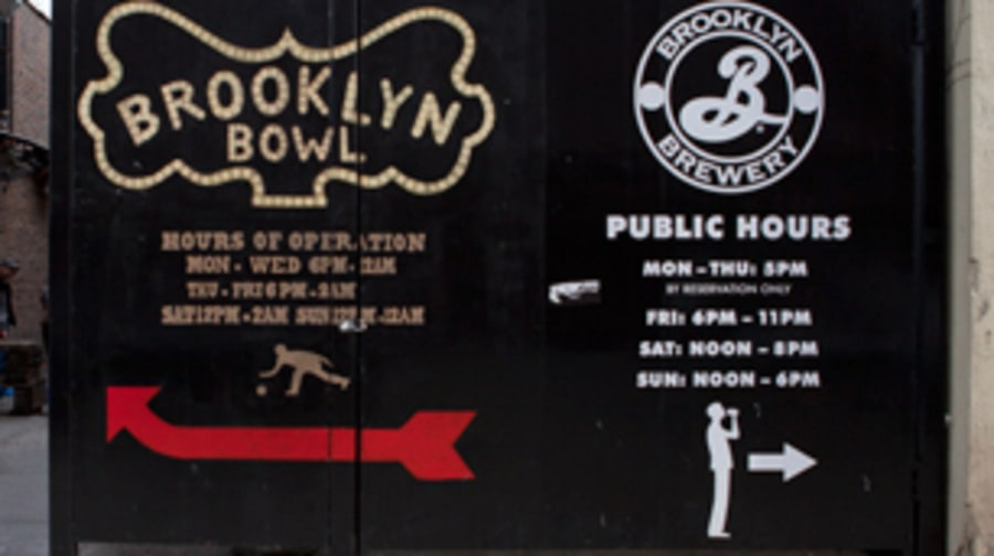 Brooklyn Bowl in New York