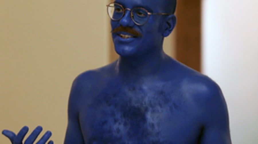 Tobias' Blue Man Group Obsession