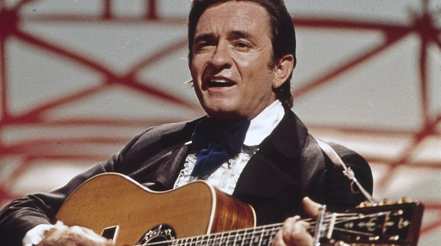 Johnny Cash, 'Out Among the Stars' (March 25th)