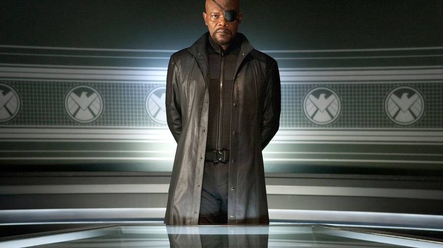 Casting Samuel L. Jackson as Nick Fury