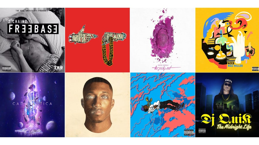 40 Best Rap Albums of 2014