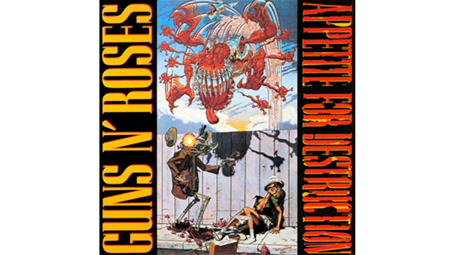 Guns N Roses Appetite For Destruction 1987 Banned
