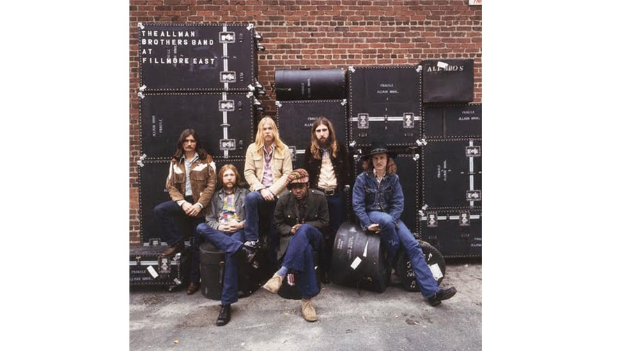 the allman brothers band 39 at fillmore east 39 1971 50 greatest live albums of all time. Black Bedroom Furniture Sets. Home Design Ideas