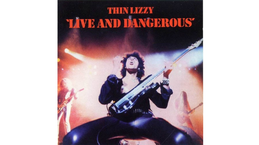 Thin Lizzy Live And Dangerous 1978 50 Greatest Live