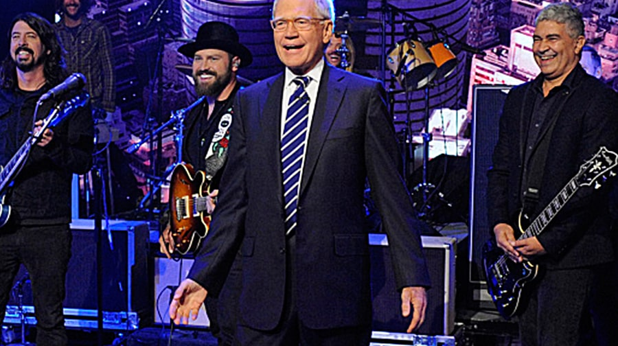 David Letterman's Top 10 Musical Moments