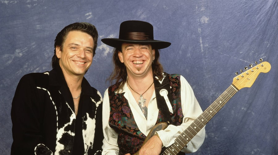 Stevie and Jimmie Ray Vaughan