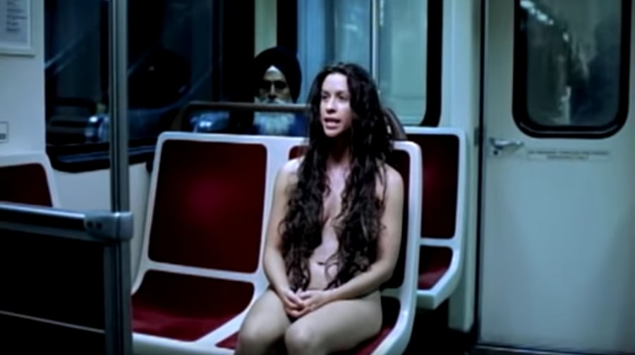 Alanis morissette music video naked
