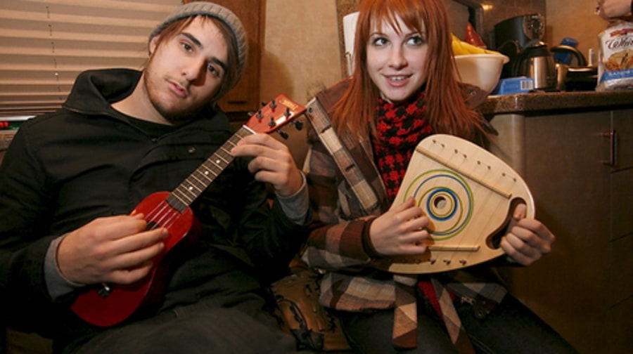Paramore's Tour Bus: Hunting Gear, Cocoa Puffs and Tiny Instruments