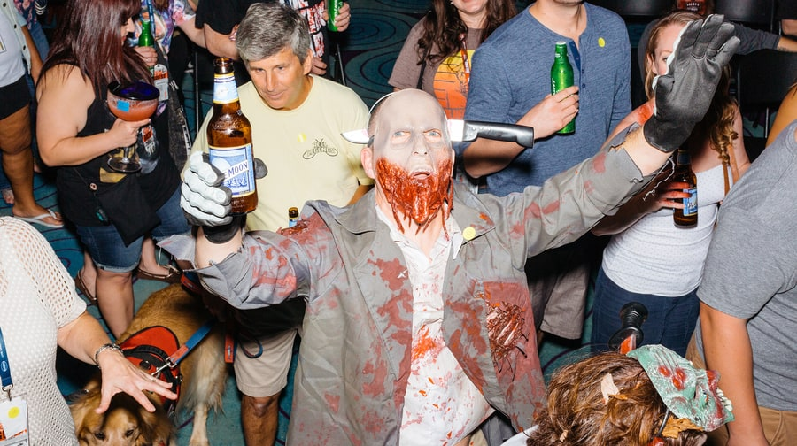 Zombies Love a Cold Beer, Too