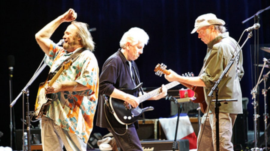 Crosby, Stills, Nash and Young Together Again