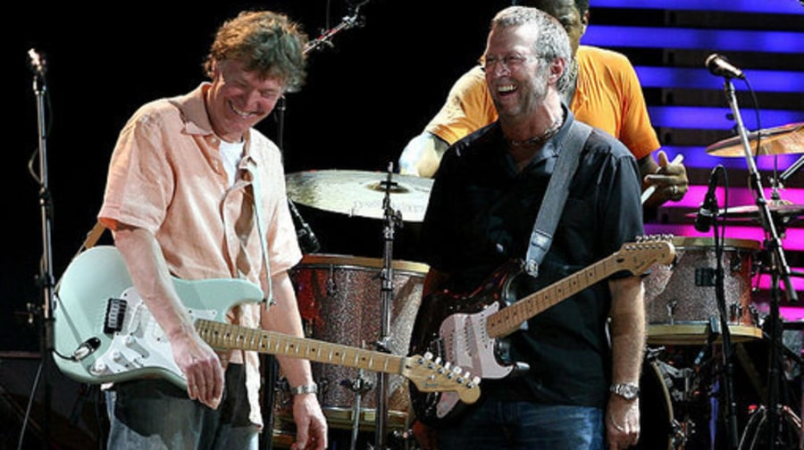 Eric Clapton and Steve Winwood: Supergroup Legends Reunite Onstage