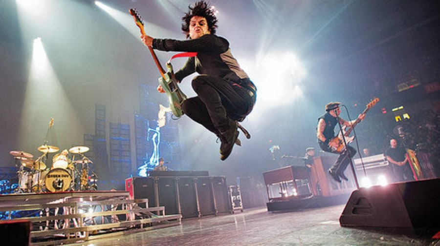 On the Road With Green Day