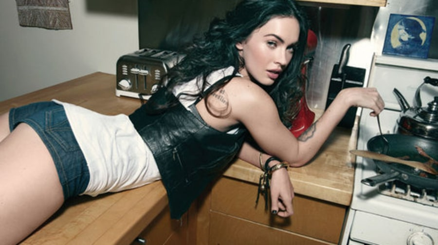 Megan Fox: America's Sexiest Bad Girl Poses for the Cover of Rolling Stone