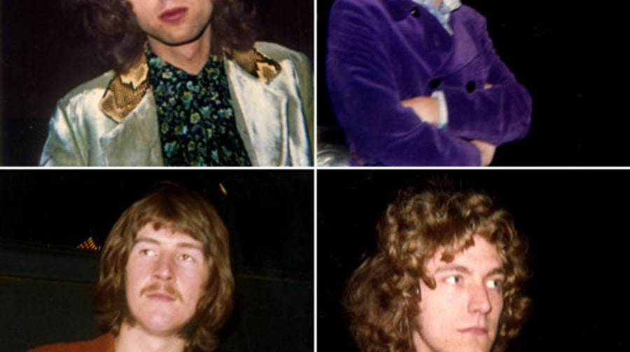 Led Zeppelin: Rarely Seen Photos From