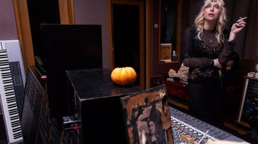In the Studio With Courtney Love