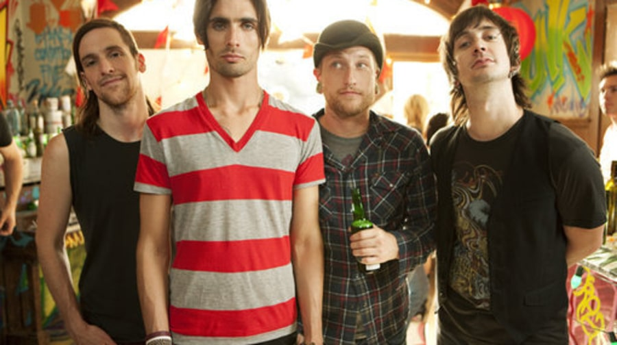 On the Set of the All-American Rejects'
