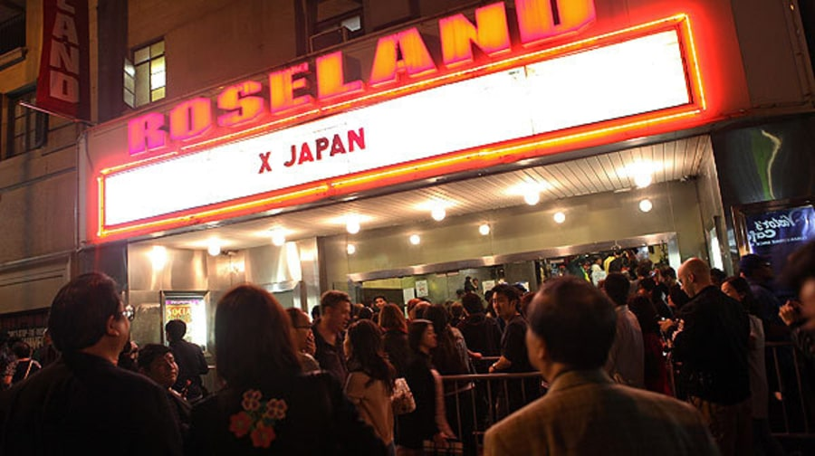 X Japan Play New York City