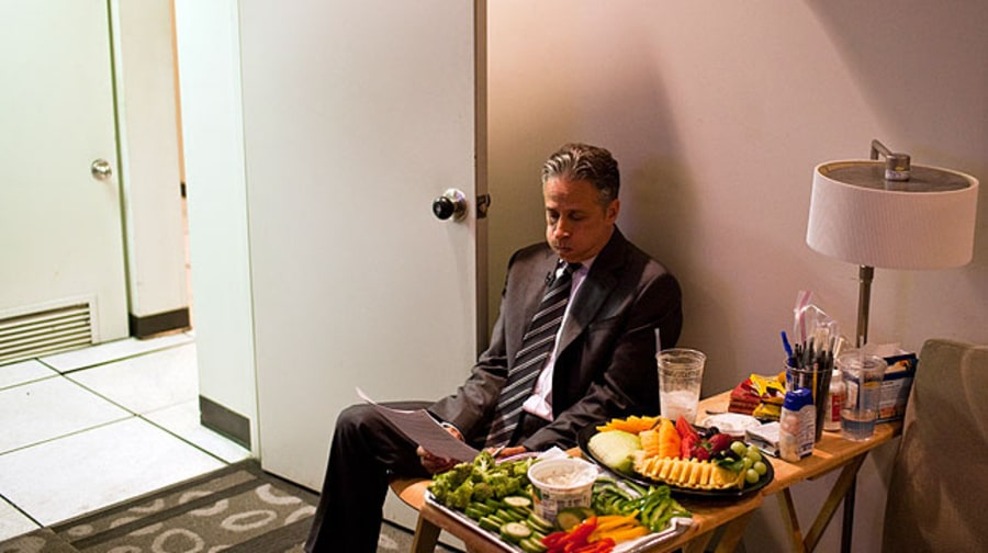 Behind the Scenes with Jon Stewart