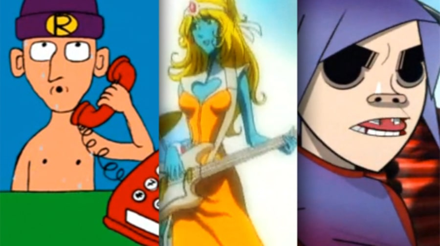 The Greatest Animated Music Videos