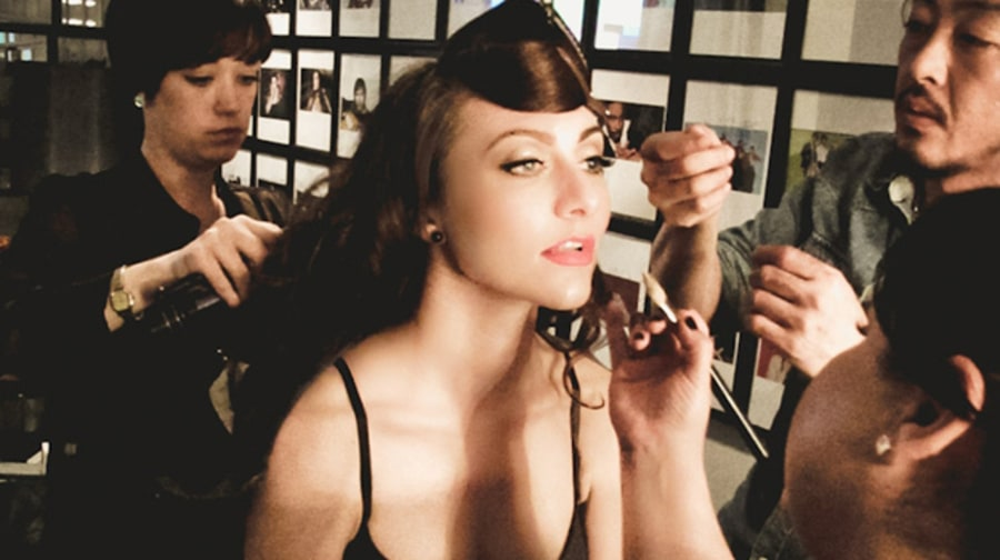 Backstage Photos With Karmin at 'Saturday Night Live'