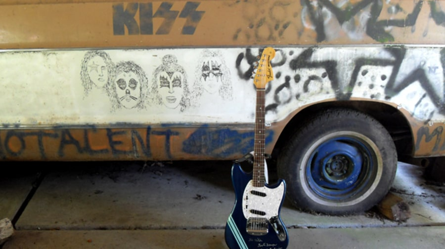 A Look Inside the Kurt Cobain-Decorated Melvins Van