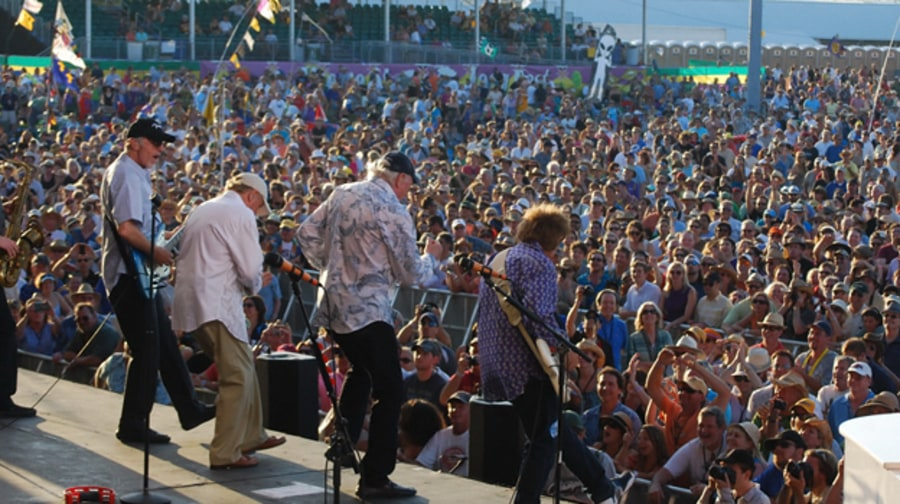 The Beach Boys at Jazz Fest