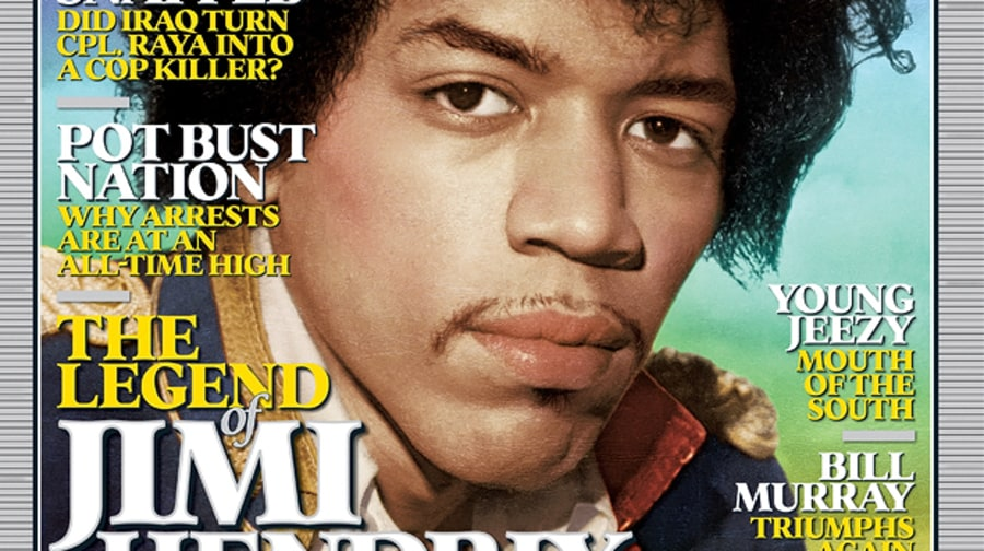 Jimi Hendrix on the Cover of Rolling Stone