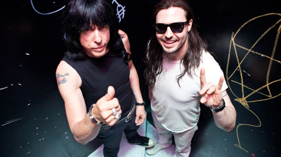 Marky Ramone's Blitzkrieg with Andrew W.K. in New York
