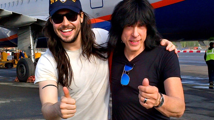 Andrew W.K. and Marky Ramone Blitzkrieg the World
