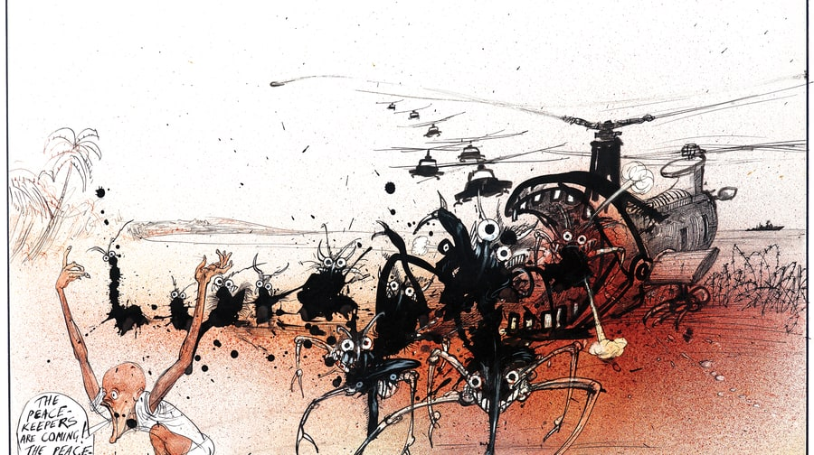 The Gonzo Art of Ralph Steadman