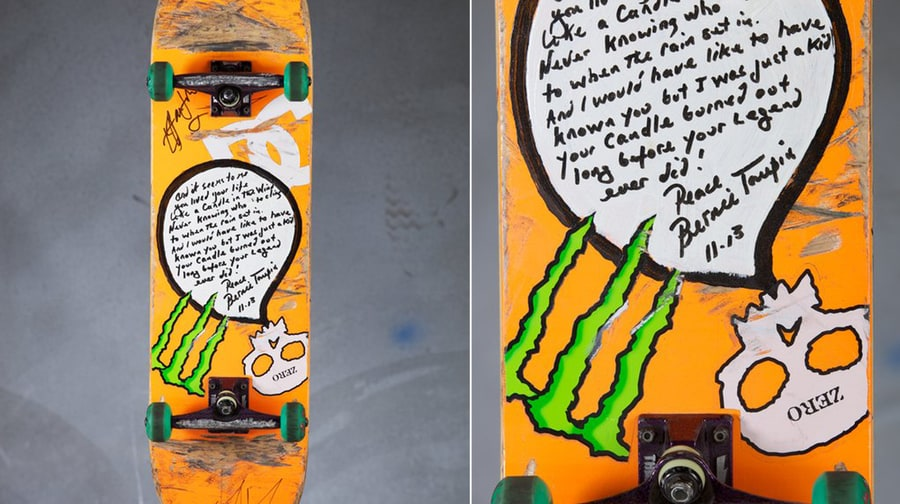 Check Out Tony Hawk's 2013 Musical Skateboards