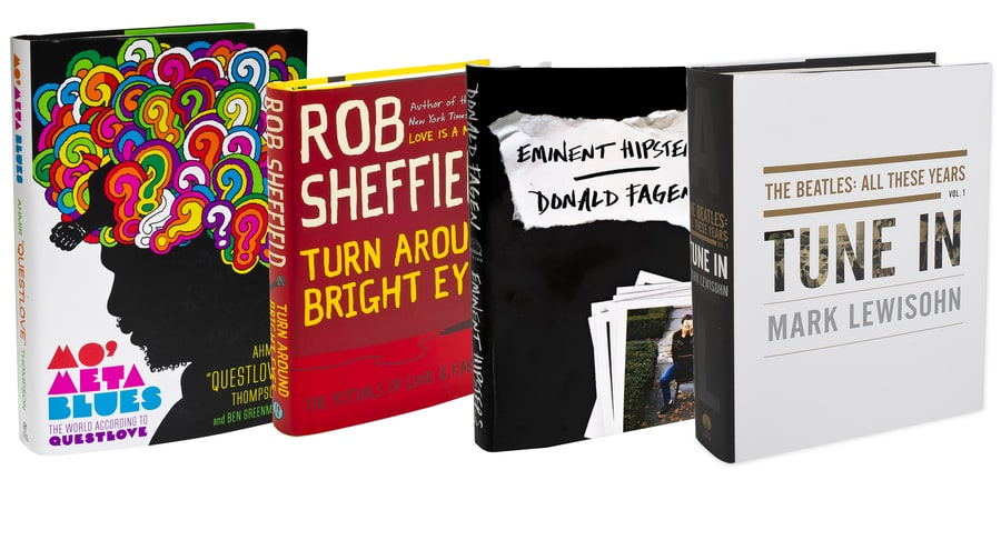 20 Best Music Books of 2013