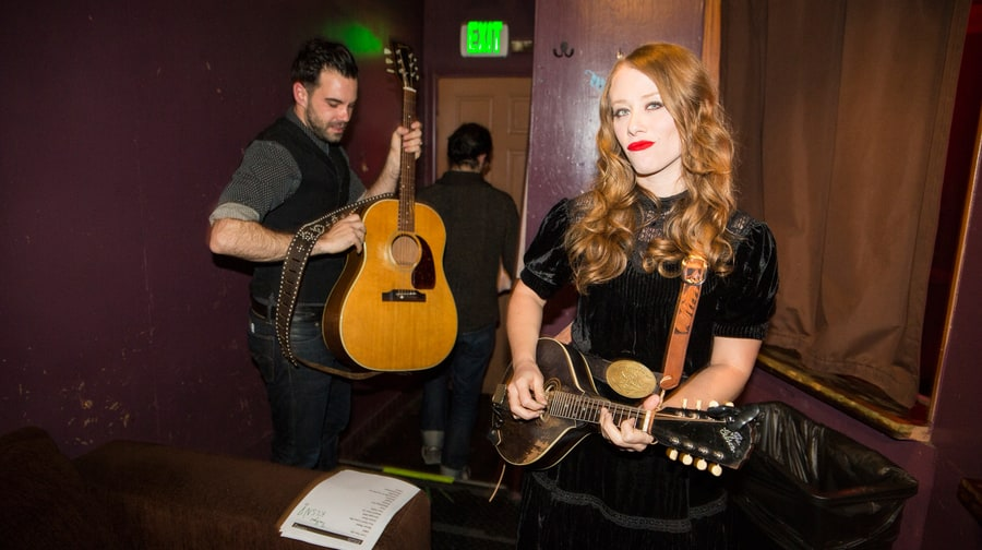 Behind the Scenes with the Lone Bellow