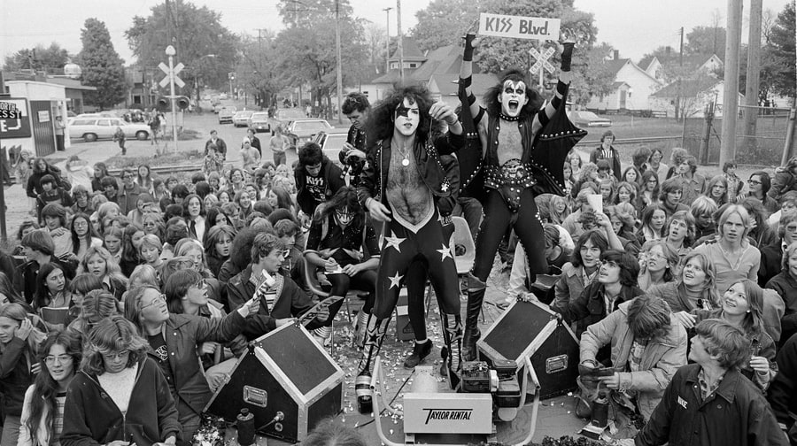 Kiss' Road to the Rock and Roll Hall of Fame