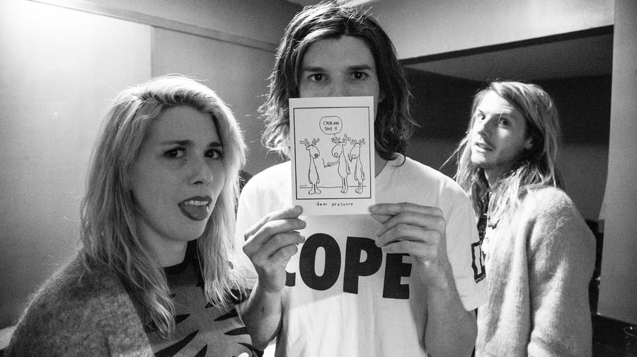 Behind the Scenes With Grouplove