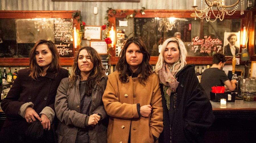 Battle Born: Behind the Scenes With Warpaint