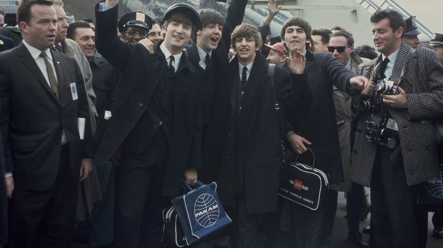 How the Beatles Took America: Photos of the Historic 1964 Invasion