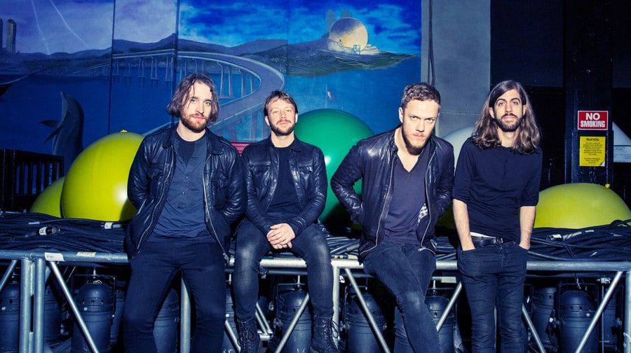 Flying High With Imagine Dragons: Exclusive Photos
