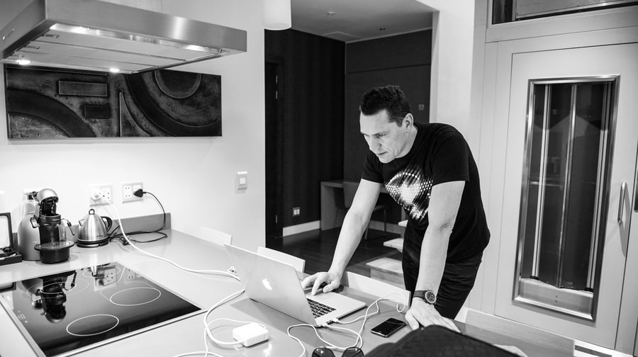 Tiësto's Magikal Mystery Tour: All-Access Photos From the Road