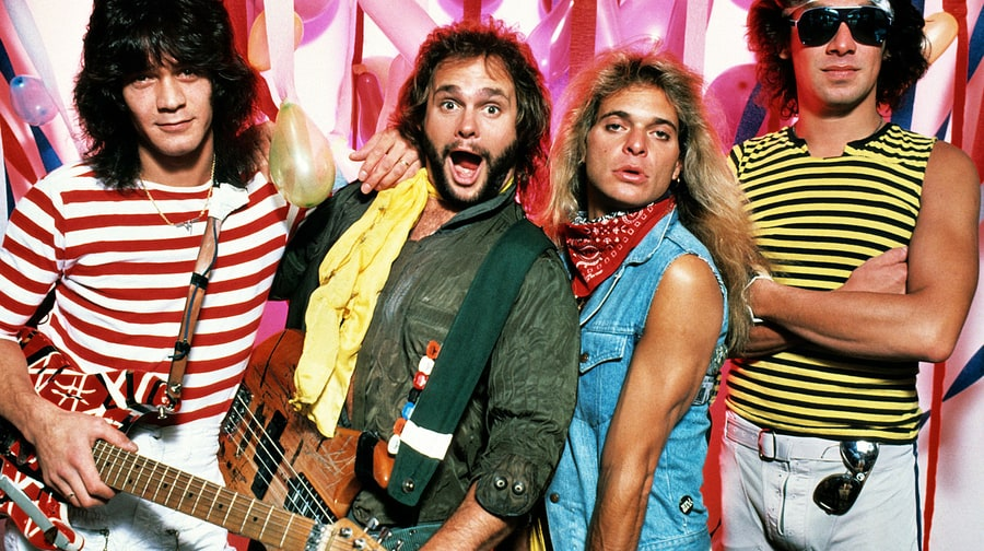 Van Halen: Intimate Pics of the Early Days Via Rock Paper Photo