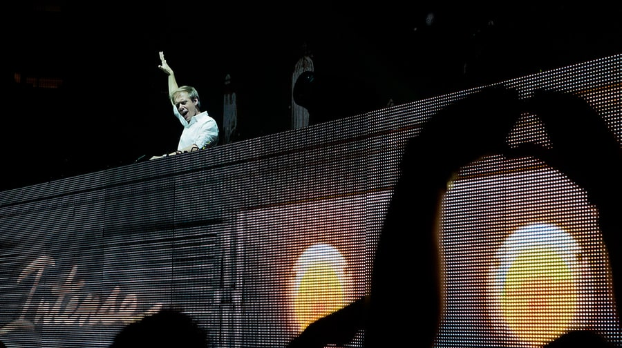 Backstage at Armin van Buuren's Madison Square Garden Explosion