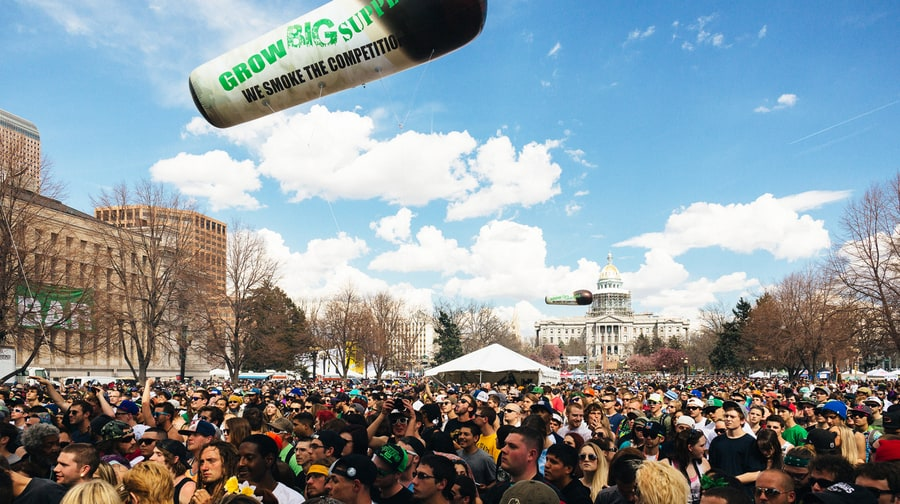 The Mile High City: Denver's 4/20 Celebrations