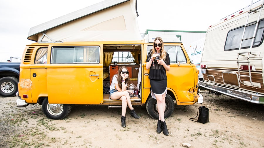 Days Are Gorge: Haim Hang Behind the Scenes at Sasquatch