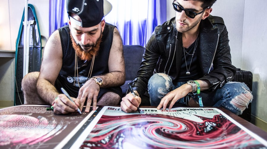 Chrome Dreams: Backstage With Chromeo at Bonnaroo
