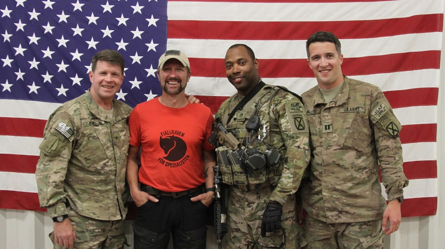 Almost Home: Photos From Craig Morgan's Trip to Afghanistan
