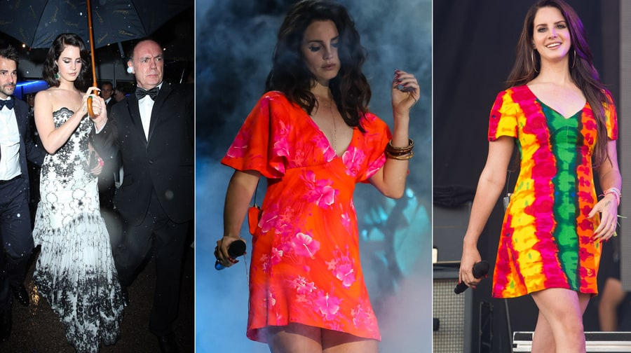 Bright Light, Dark World: Lana Del Rey's Technicolor Style Statements