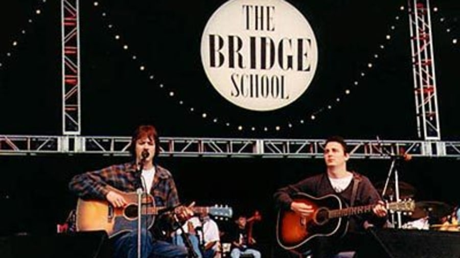 Pete Droge and Mike McCready at the Bridge School Benefit '98