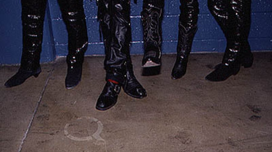 The Romantics' shoes