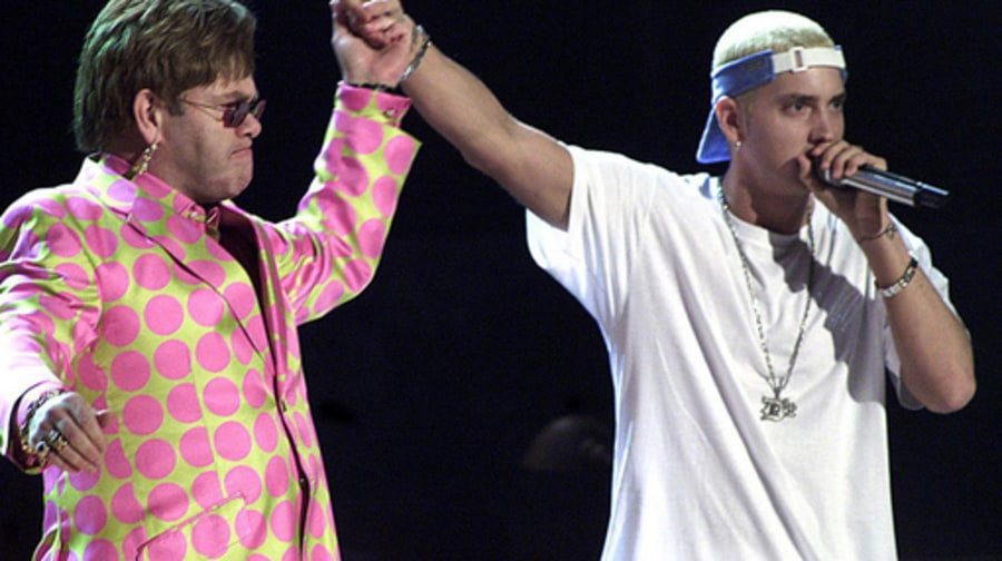 Grammy Rewind: ELTON AND EMINEM 2001