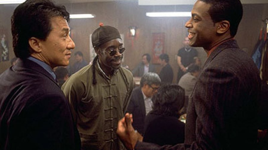 Jackie Chan, Don Cheadle & Chris Tucker